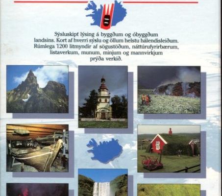 Íslandshandbókin náttúra, saga og sérkenni (bakhlið)