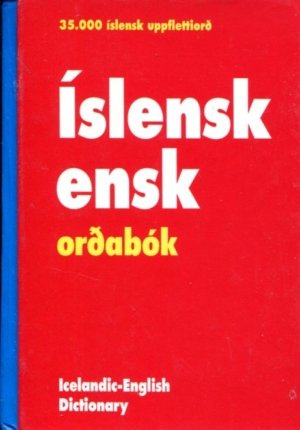 Íslensk-ensk orðabók Orðabókaútgáfan