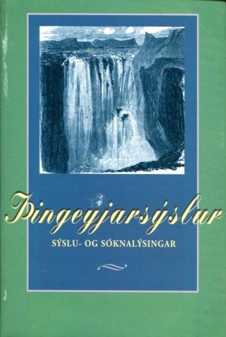 Þingeyjarsýslur sýslu- og sóknalýsingar