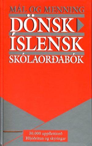 Dönsk Íslensk skólaorðabó