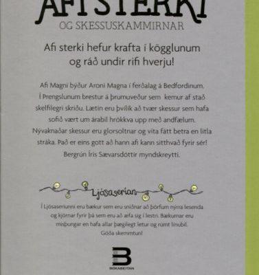 Afi sterki og skessuskammirnar bakhlið