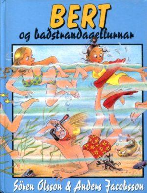 Bert og baðstrandagellurnar framhlið