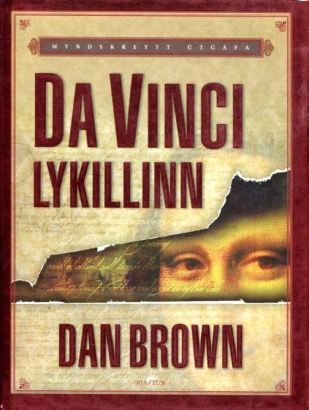 Da Vinci lykillinn eftir Dan Brown framhlið
