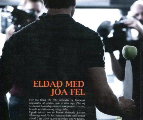 Eldað með Jóa Fel baksíða