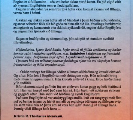 Engilbjört og Illhuga bakhlið