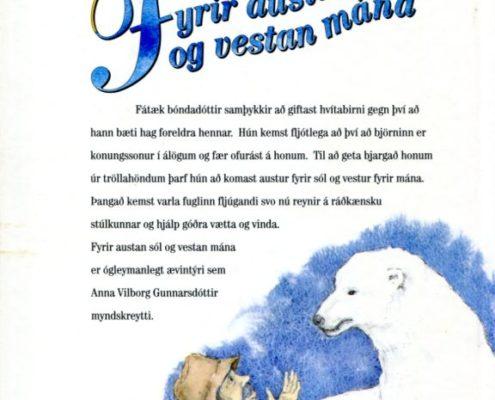 Fyrir austan sól og vestan mána. Bakhlið