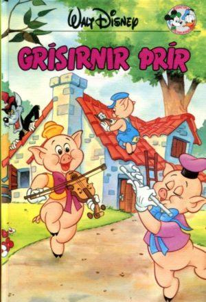 Grísirnir þrír. Disney ævintýri