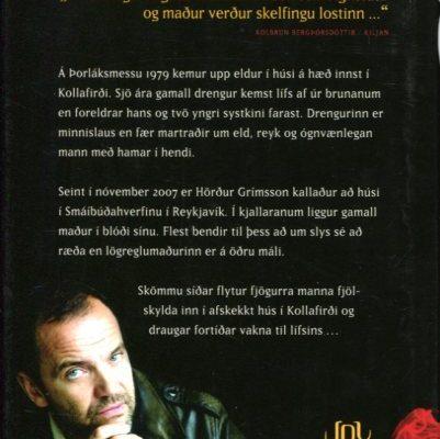 Húsið - Stefán Máni bakhlið