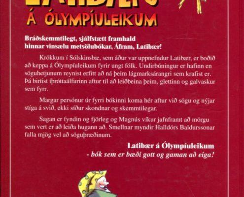 Latibær á Ólympíuleikum. Bakhlið
