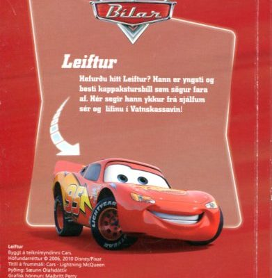 Leiftur - Disney Pixar bakhlið