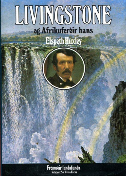 Livingstone og Afríkuferðir hans framhlið