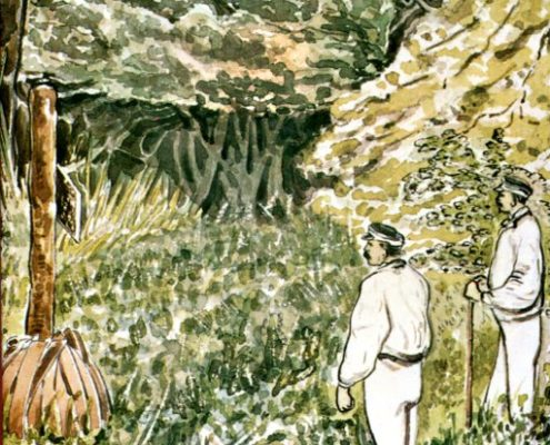 Livingstone og Afríkuferðir hans bakhlið