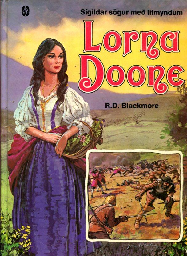 Lorna Doone - R.D. Blackmore framhlið