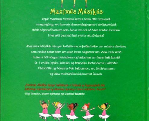 Maxímús Músíkús bjargar ballettinum bakhlið