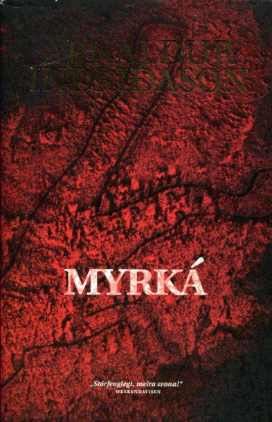 Myrká - Arnaldur Indriðason framhlið