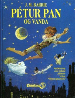 Pétur Pan og Vanda framhlið