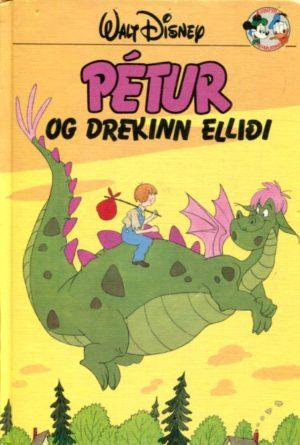 Pétur og drekinn Elliði. Disney ævintýri.