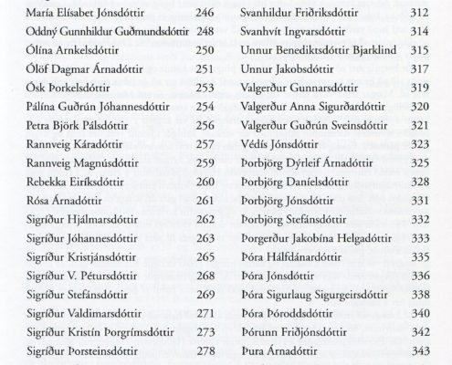 Djúpar rætur hugverk þingeyskra kvenna efnisyfirlit 3