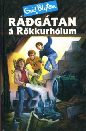 Ráðgátan á Rökkurhólum framhlið