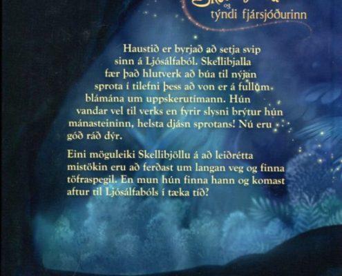 Skellibjalla og týndi fjársjóðurinn bakhlið