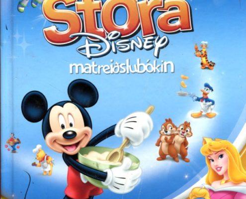 Stóra Disney matreiðslubókin forsíða