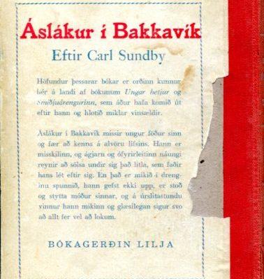Áslákur í Bakkavík bakhlið