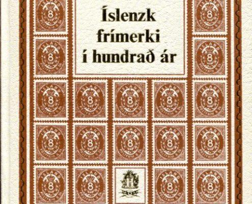 Íslensk frímerki í hundrað ár framhlið