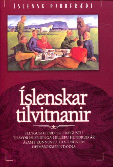 Íslenskar tilvitnanir framhlið