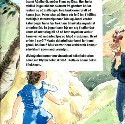 Ævintýrahöllin eftir Enid Blyton bakhlið