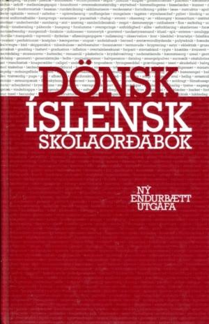 Dönsk íslensk skólaorðabók - 1994 útgáfa