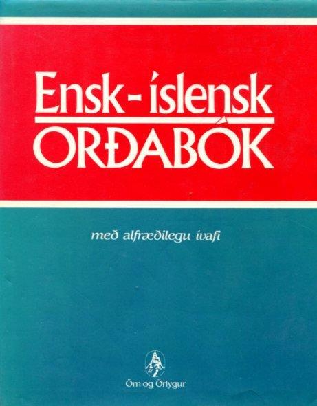 Ensk - Íslensk orðabók - Sören Sörensson