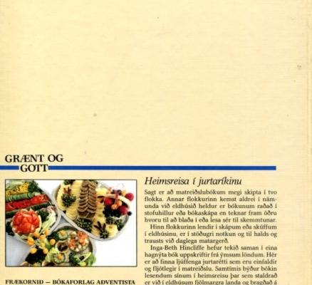 Grænt og gott (bakhlið)