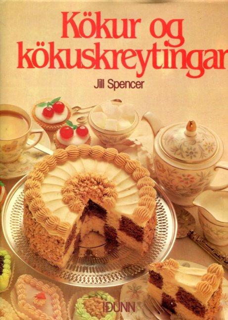 Köku og kökuskreytingar - Jill Spencer