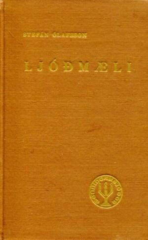 Ljóðmæli, Stefán Ólafsson árið 1948