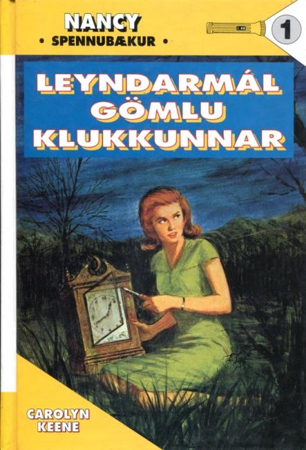 Nancy og leyndarmál gömlu klukkunnar