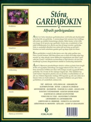 Stóra garðabókin (bakhlið)