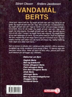 Vandamál Berts (bakhlið)